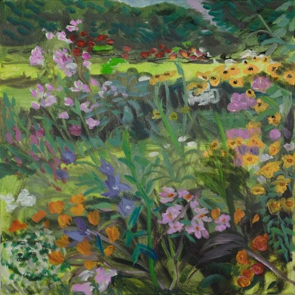 Karen's Garden - painting by Wendy S. McCarty